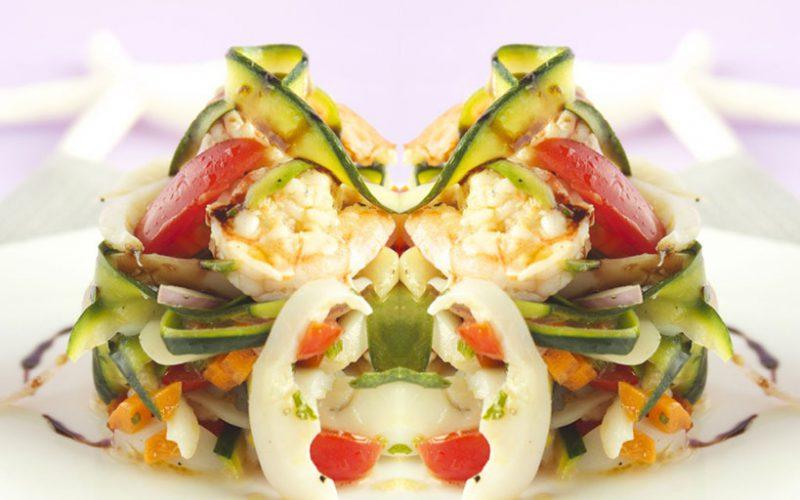 Seppie e verdure al profumo orientale