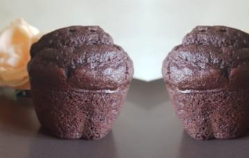 I miei muffin al cioccolato light